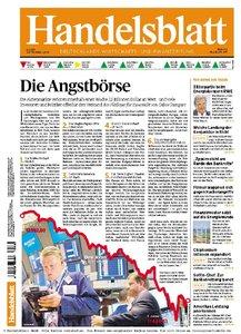 Handelsblatt Nr.151 vom 08.08.2011