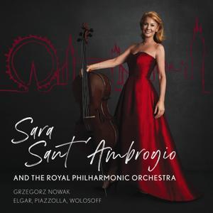 Sara Sant'Ambrogio, Royal Philharmonic Orchestra & Grzegorz Nowak - Elgar, Piazzolla, Wolosoff (2019)