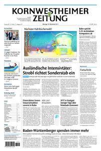 Kornwestheimer Zeitung - 18. Dezember 2017