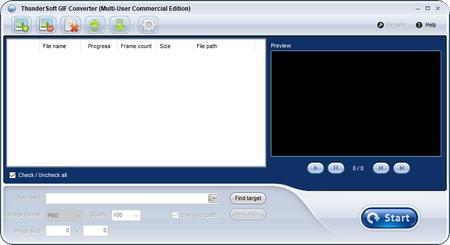 ThunderSoft GIF to PNG Converter 2.6.0