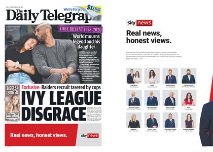The Daily Telegraph (Sydney) – January 28, 2020