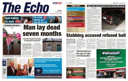 Evening Echo – October 18, 2019