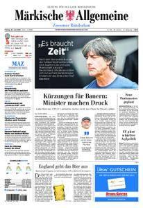 Märkische Allgemeine Zossener Rundschau - 29. Juni 2018