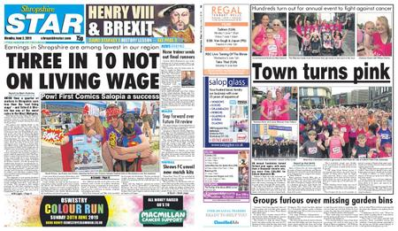 Shropshire Star Shrewsbury Edition – June 03, 2019