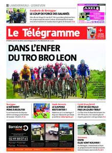 Le Télégramme Landerneau - Lesneven – 17 mai 2021