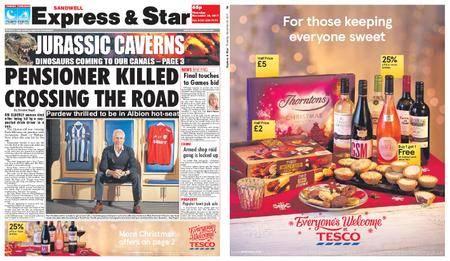 Express and Star Sandwell Edition – November 30, 2017