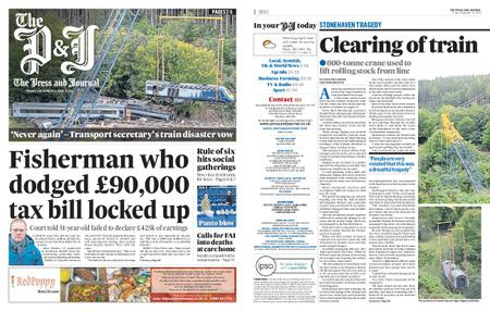 The Press and Journal Moray – September 11, 2020