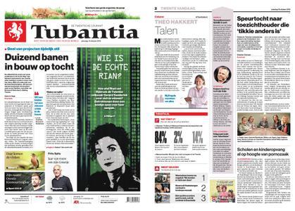 Tubantia - Enschede – 19 oktober 2019