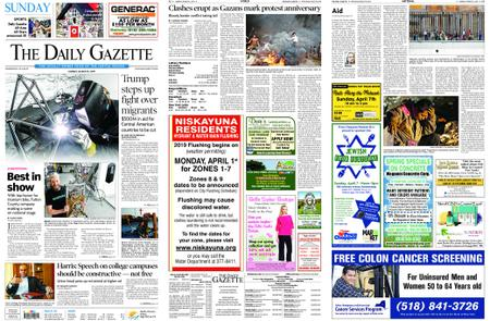 The Daily Gazette – March 31, 2019