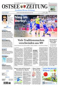 Ostsee Zeitung Wolgast - 01. April 2019