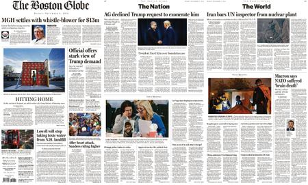 The Boston Globe – November 08, 2019