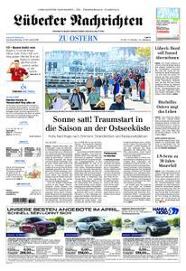 Lübecker Nachrichten Ostholstein Süd - 21. April 2019