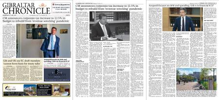 Gibraltar Chronicle – 21 July 2021
