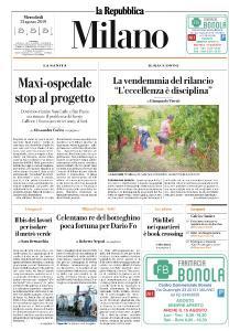la Repubblica Milano - 21 Agosto 2019
