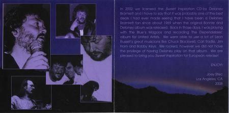 Delaney Bramlett - Sweet Inspiration (1989/2004) Reissue 2008