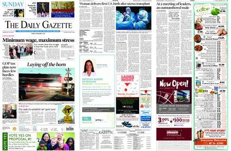 The Daily Gazette – December 03, 2017