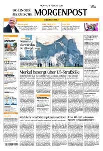 Solinger Morgenpost – 18. Februar 2019