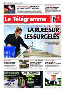 Le Télégramme Ouest Cornouaille – 27 février 2021