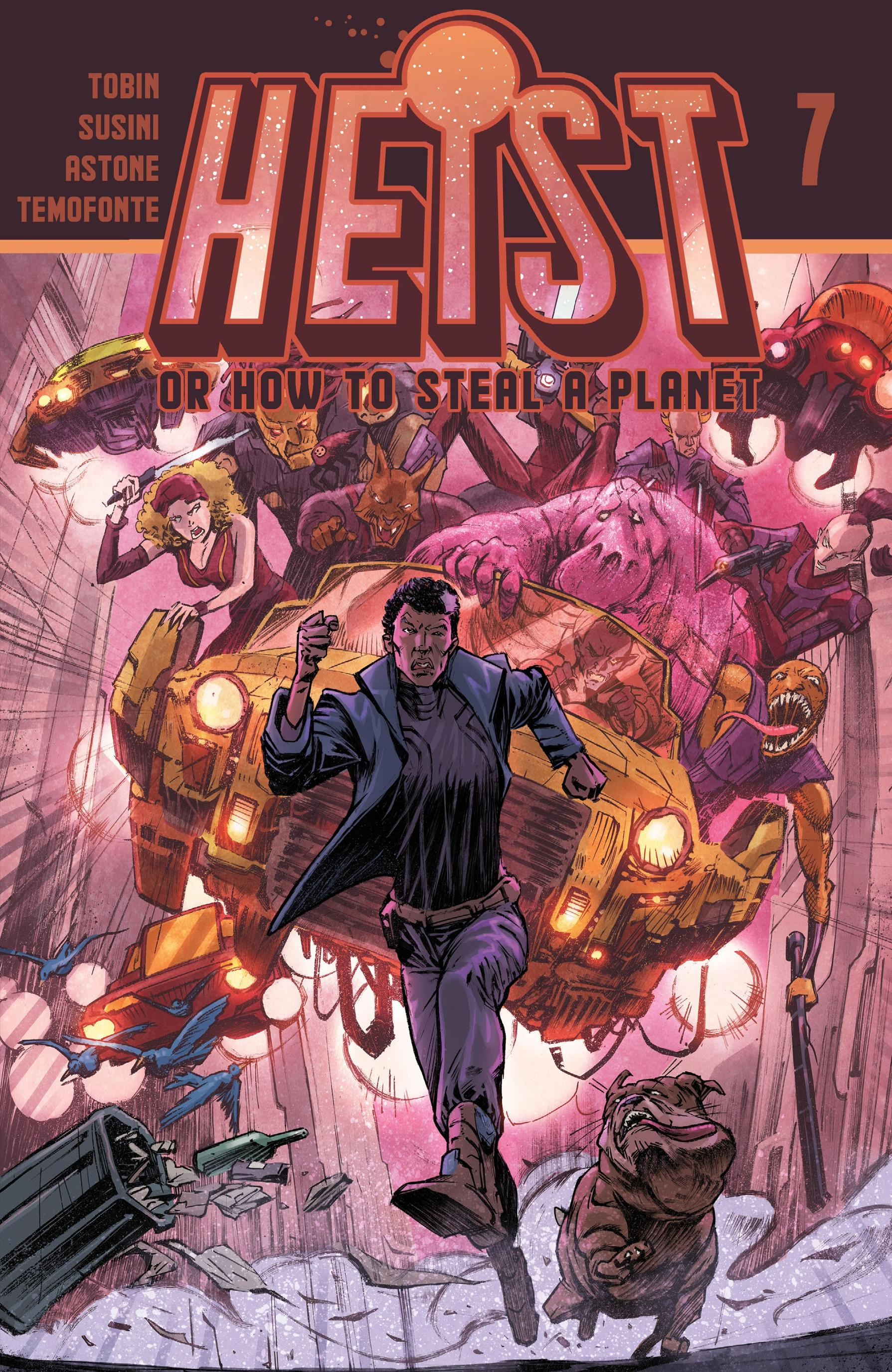 Heist, Or How To Steal A Planet 007 2020 Digital Mephisto
