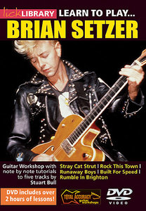 Learn To Play Brian Setzer [repost]