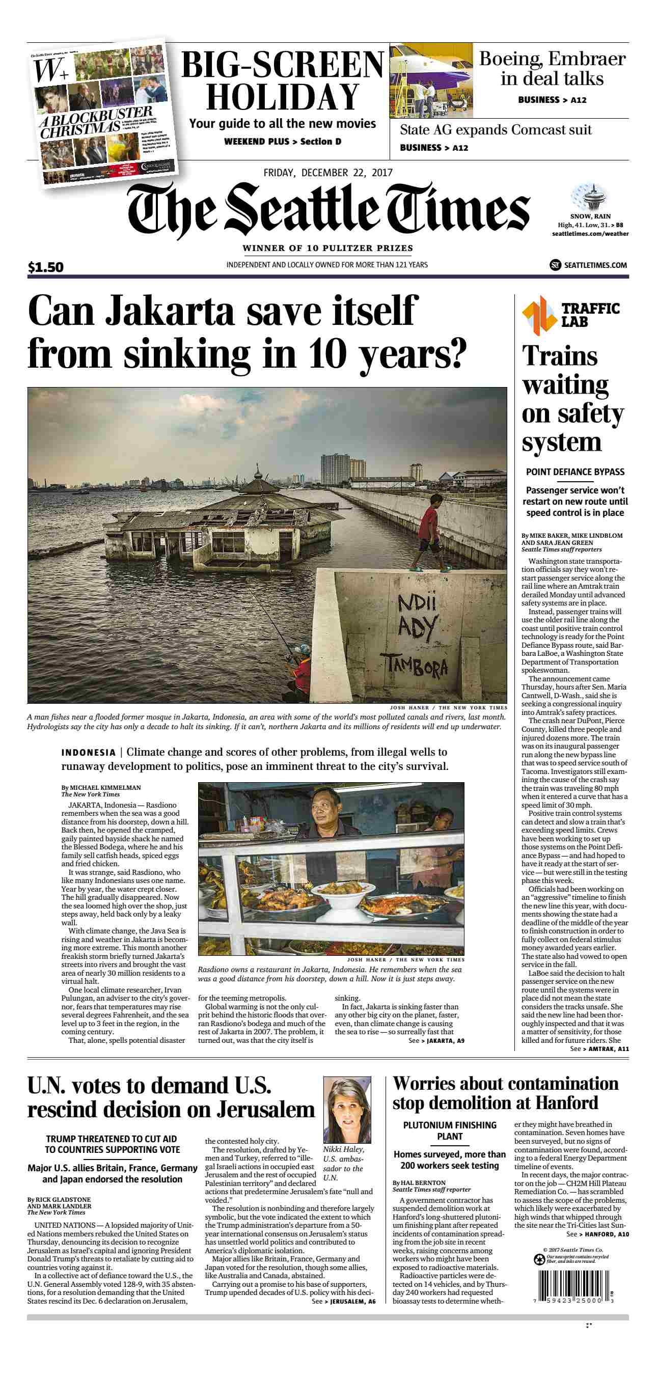 The Seattle Times  December 22 2017