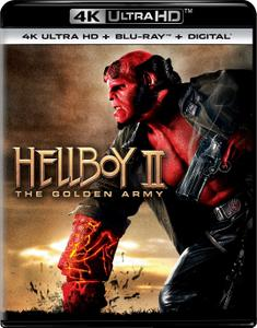 Hellboy II: The Golden Army (2008) [4K, Ultra HD]
