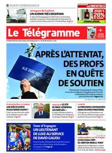 Le Télégramme Ouest Cornouaille – 20 octobre 2020