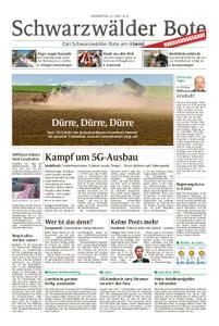 Schwarzwälder Bote Blumberg - 25. April 2019