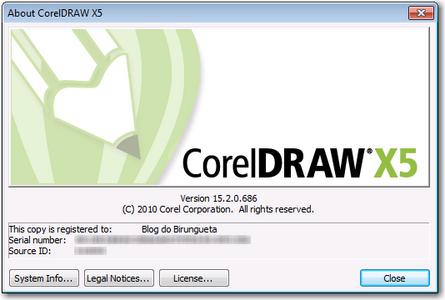 CorelDRAW Graphics Suite X5 v15.2.0.686 SP3 Portable