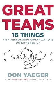 Great Teams: 16 Things High Performing Organizations Do Differently (repost)