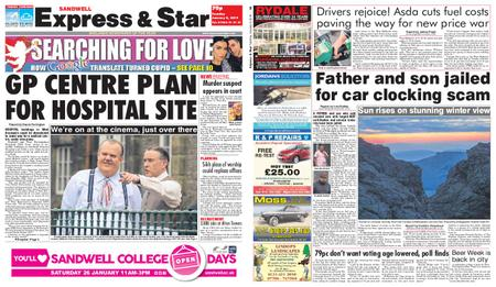 Express and Star Sandwell Edition – January 08, 2019