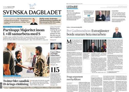 Svenska Dagbladet – 09 januari 2019