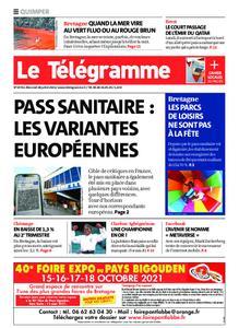 Le Télégramme Quimper – 28 juillet 2021