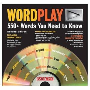 WordPlay: 550+ Words You Need to Know