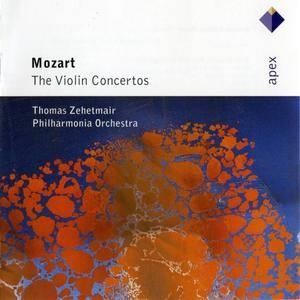 Thomas Zehetmair, Philharmonia Orchestra - Mozart: The Violin Concertos (1991) [Reissue 2007]