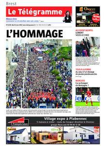 Le Télégramme Brest – 11 juin 2019
