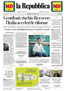 la Repubblica - 29 Dicembre 2020