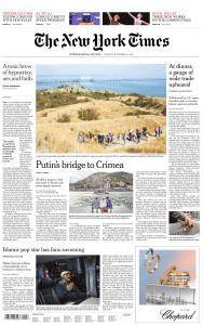 International New York Times - 14 November 2017