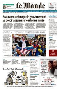 Le Monde du Vendredi 22 Février 2019