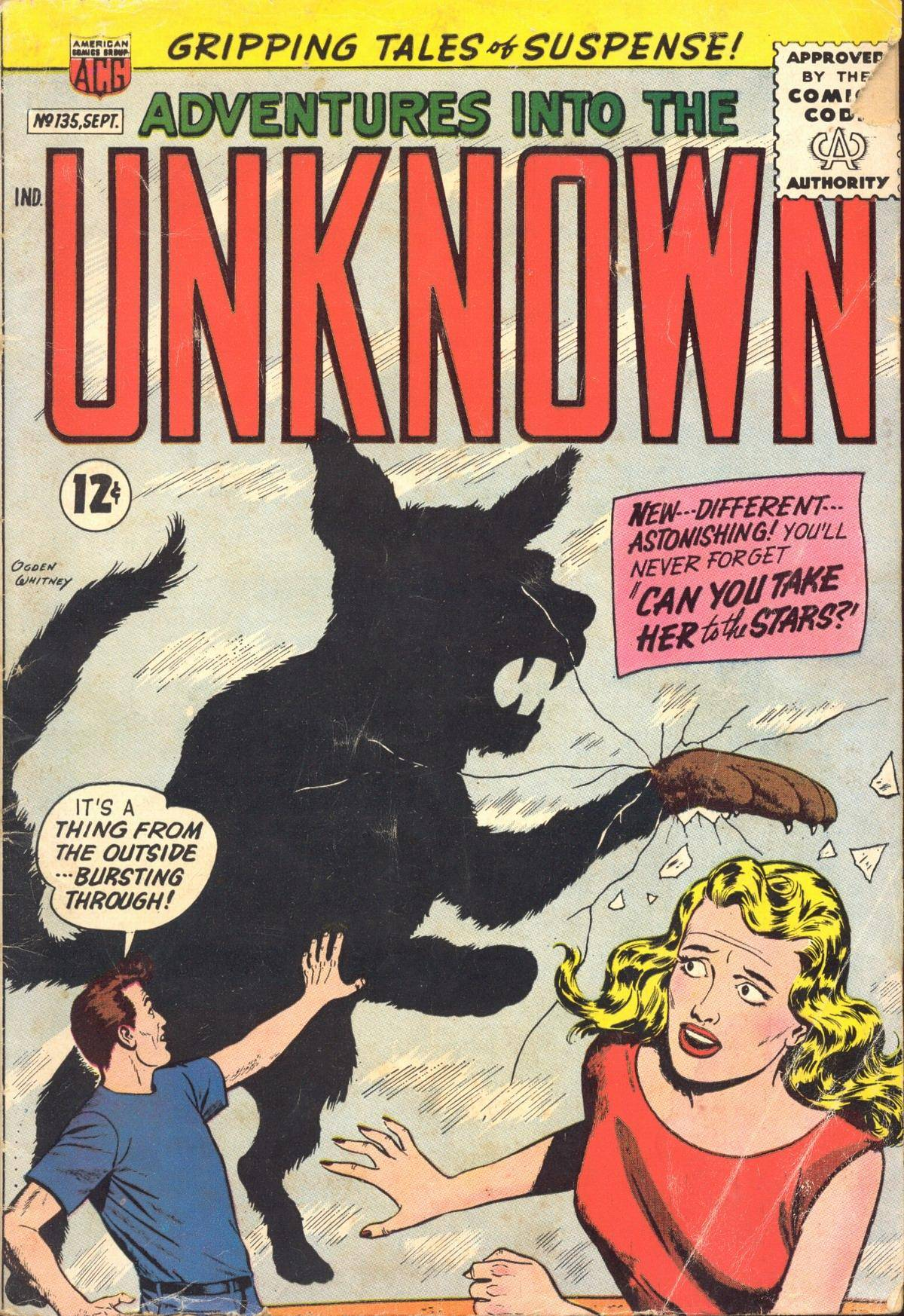 Adventures into the Unknown [1962-09] 135