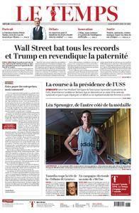 Le Temps - 30 août 2018