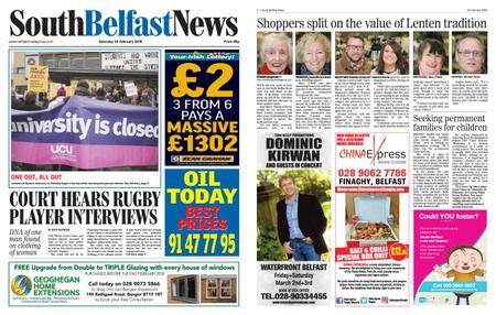 South Belfast News – February 23, 2018
