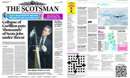 The Scotsman – January 16, 2018