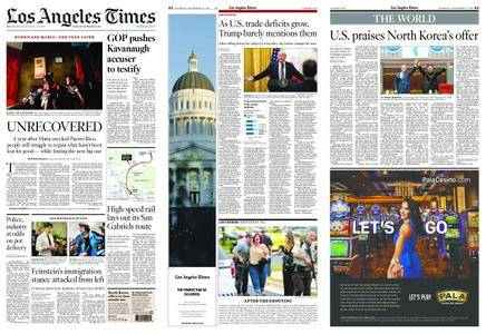 Los Angeles Times – September 20, 2018