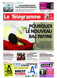 Le Télégramme Landerneau - Lesneven – 15 janvier 2020