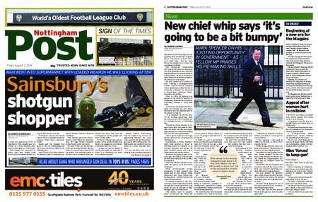 Nottingham Post – August 02, 2019