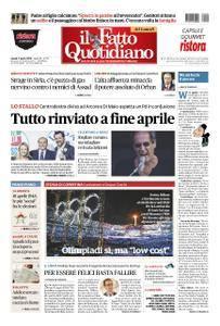 Il Fatto Quotidiano - 09 aprile 2018