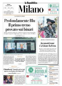 la Repubblica Milano - 3 Agosto 2019