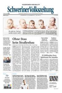 Schweriner Volkszeitung Hagenower Kreisblatt - 16. November 2017