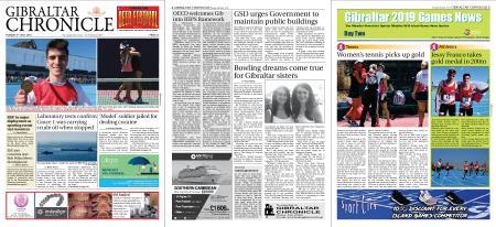 Gibraltar Chronicle – 09 July 2019